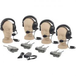Anchor Audio PRO-540S PortaCom Wireless Intercom (Intercomunicador) 4 Usuarios