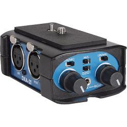 Beachtek DXA-2T Adaptador universal de audio para videocámaras compactas