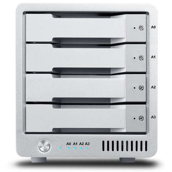 CalDigit T4R-TB3-16000 Disco Duro Externo 16TB Thunderbolt 3  4K Workflow