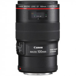 Canon Lente EF 100mm f/2.8L Macro IS USM