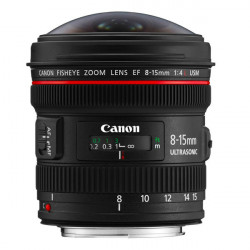 Canon Lente  EF 8-15mm f/4L Fisheye Zoom Angular