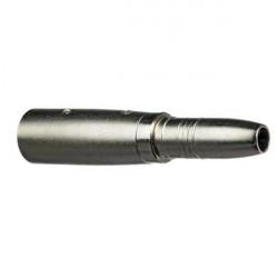 "Hosa GXJ-235 Adaptador de Hembra Stereo 1/4""  a Macho 3-pin XLR"