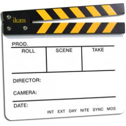 Ikan Claqueta Clapboard Slate de producción