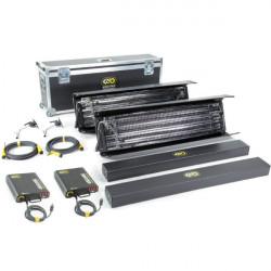 Kino Flo Gaffer Kit 4Bank 4ft  2-Light Kit  230U con maleta