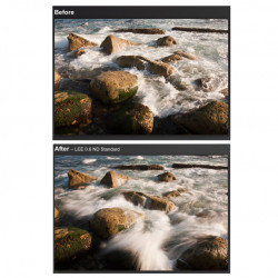 Lee Filters 4x4 Filtro ND 6 Neutral Density Glass 0.6