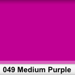 Lee Filters  049S Pliego Medium Purple 50cm x 60 cm