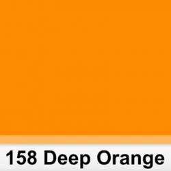 Lee Filters  158S Pliego Deep Orange 50cm x 60 cm