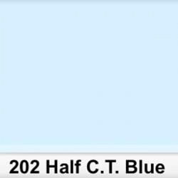 Lee Filters 202S Pliego 1/2 C.T.Blue 50cm x 60 cm