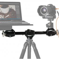 Manfrotto 131DDB Brazo de soporte para 4 cabezales / cámaras o Laptop