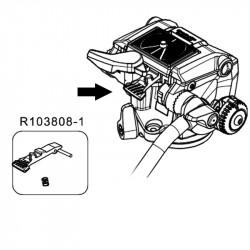 Manfrotto R103808-1 Repuesto ASM para Head MHXPRO-2W