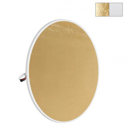 "Photoflex Disco Reflector Litedisc 42"" (107cm) Dorado/Blanco"