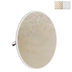 """Photoflex Disco Reflector Litedisc 42"""" (107cm) Dorado Suave/Blanco"""