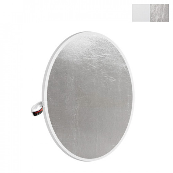 "Photoflex Disco Reflector Litedisc 22"" (56cm) Plateado/Blanco"