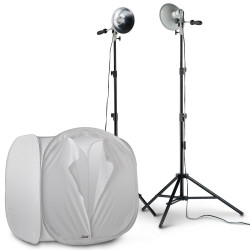 Photoflex Kit FirstStudio de 2 Luces 250watt con Igloo