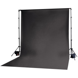 Photoflex Tela  / Telón para  BackDrop 3 x 6 m Negro (Solo tela no incluye atriles)