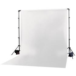 Photoflex Tela  / Telón para BackDrop 3 x 3,6 m Blanco (Solo tela no incluye atriles)