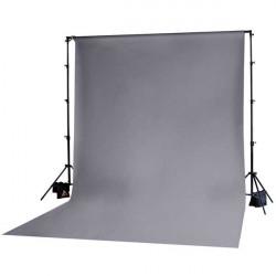 Photoflex Tela / Telón para BackDrop 3 x 3,6 m Gris (Solo tela no incluye atriles)