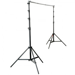 "Photoflex ""ProDuty"" Kit de Soporte de Telas  / Backdrop"