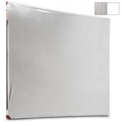 Photoflex Tela Reflectiva / Telón para LitePanel de 1.95 x 1.95mts Blanco/Plata (Tela no incluye marco)