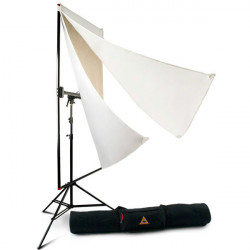 Photoflex  LitePanel Kit de 1 x 1.80mts con telas