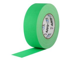 """Protapes PG2FLGREEN Gaffer Mate 5cm / 2 """" Verde Florescente 50 MTS"""