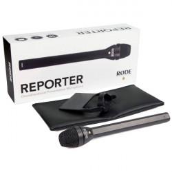 Rode Reporter Micrófono de Mano Dinámico Omnidireccional