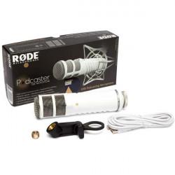 Rode Podcaster USB Micrófono Broadcast Estudio