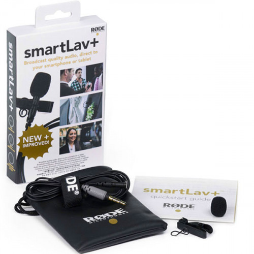 Rode New smartLav + (Plus) Micrófono Lavalier para SmartPhones y Tablets