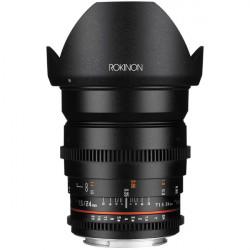 Rokinon Lente DS Cine 24mm T1.5 para EF Canon