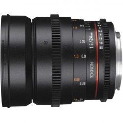 Rokinon Kit Lentes DS Cine 24, 35, 50 y 85mm T1.5 para NEX Sony E Mount