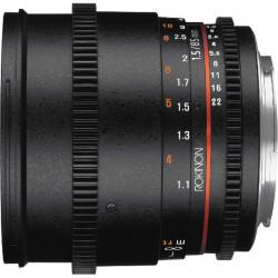 "Rokinon Lente DS Cine 85mm T1.5 para MFT micro 4/3"""