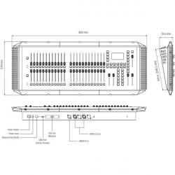 Strand Lighting Consola de Iluminación 200 Plus 24/48 Canales