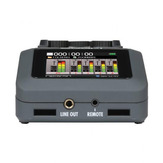 Zoom H6 Grabador Portátil 6 canales con 4 XLR y Mic Stereo XY